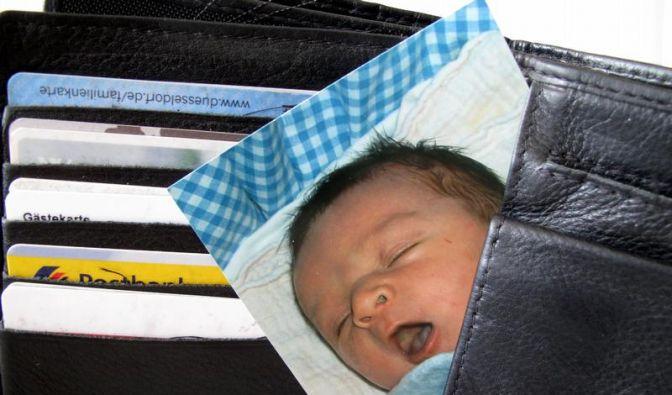 Portemonnaie mit Babyfotos verloren? Glück gehabt, meint Sozialforscher Richard Wiseman. (Foto)