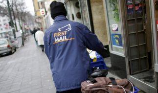 Post erwägt Schließung der Billigtochter First Mail (Foto)