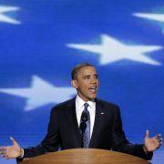 Präsident Barack Obama beim Parteitag der Demokraten.