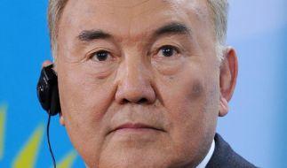 Präsident Nasarbajew mit 95,5 Prozent wiedergewählt (Foto)
