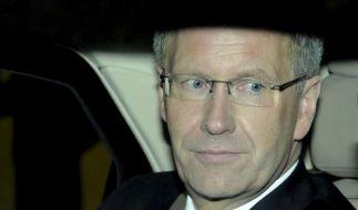 Präsident Wulff will nicht zurücktreten (Foto)