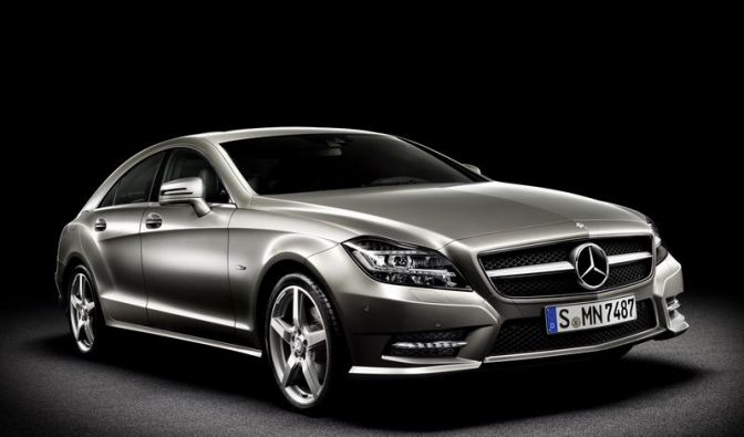 Premiere in Paris: Mercedes zeigt zweite CLS-Generation (Foto)