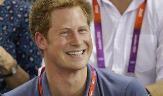 Prinz Harry (27), erhält nach der Veröffentlichung von Fotos einer Nacktparty in Las Vegas Unterstützung vom Königshaus. (Foto)