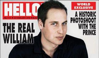 Prinz William auf einmal mit vollem Haar (Foto)