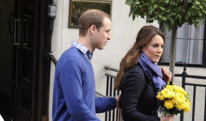 Prinz William bleibt für Kate zu Hause (Foto)