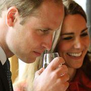William und Kate testen Whisky in Schottland (Foto)