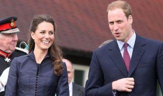 Prinz William und Kate Middleton (Foto)