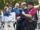 Prinzessin Charlotte und Prinz George feiern Weihnachten mit der gesamten royalen Verwandtschaft auf Schloss Sandringham. (Foto)