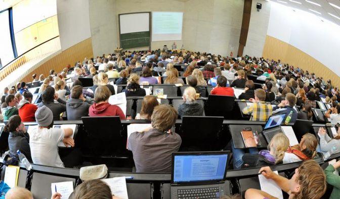 Professoren beklagen sinkendes Niveau (Foto)