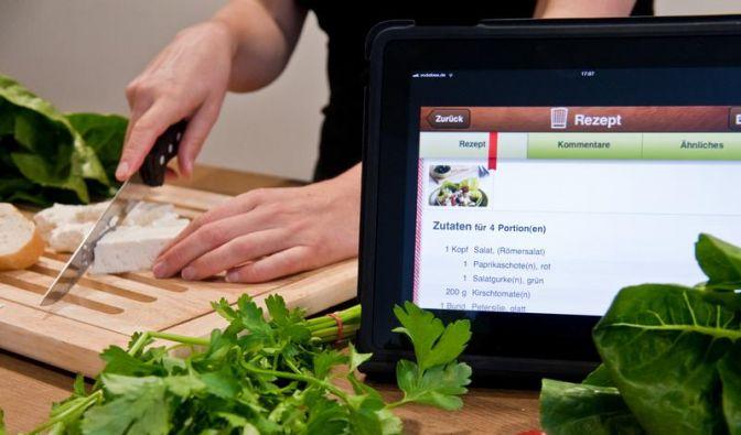 Profitipps und Rezeptesammlungen - Apps als Küchenhelfer (Foto)