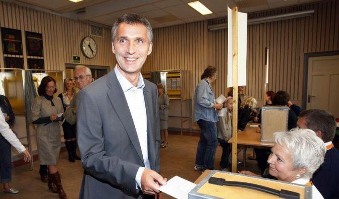 Prognose: Norwegens Sozialdemokraten knapp vorn (Foto)