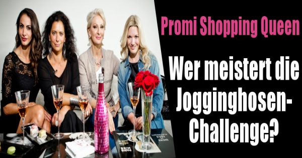 promi shopping queen in der wiederholung das promi luder rockte den jogginghosen look. Black Bedroom Furniture Sets. Home Design Ideas