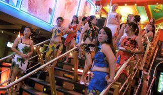 Prostituierte in Pattaya. (Foto)