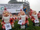 Protestaktion in Straßburg (Foto)
