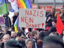 Proteste gegen NPD-Aufmarsch in Duisburg (Foto)