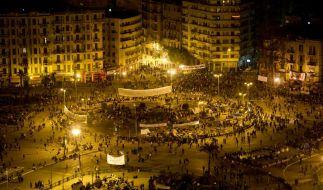 Proteste in Aegypten (Foto)