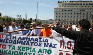 Proteste in Griechenland (Foto)