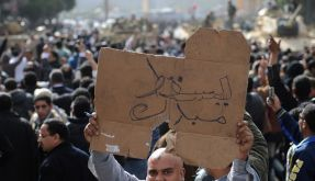 Proteste in Kairo (Foto)