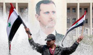Proteste in Syrien (Foto)