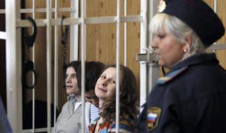 Putin-Gegnerinnen Pussy Riot bleiben bis 2013 in Haft (Foto)