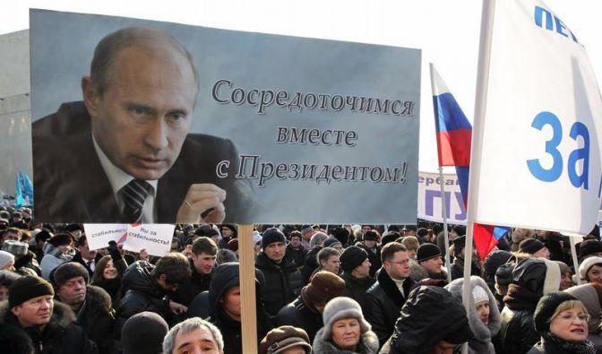 Putin-Lager bringt Zehntausende auf die Straße (Foto)