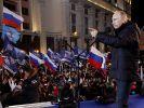 Putin offiziell zum Wahlsieger erklärt (Foto)