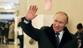 Putin-Partei gewinnt Wahl mit herben Verlusten (Foto)