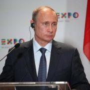 Putin schließt Zusammenarbeit mit G7 aus (Foto)