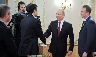 Putin weist Sorgen vor Repressionen zurück (Foto)