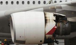 Qantas findet Öllecks an A380-Triebwerken (Foto)