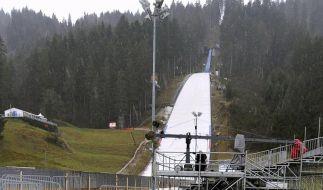 Qualifikation für Skisprung-Weltcup abgesagt (Foto)