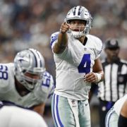 Quarterback Dak Prescott von den Dallas Cowboys. (Foto)