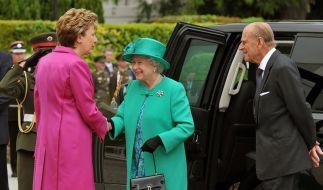 Queen-Besuch in Irland (Foto)