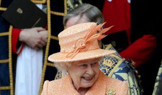 Queen besucht Australien (Foto)