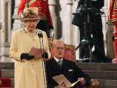 Queen hält historische Rede zum Thronjubiläum (Foto)