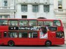 Radfahrer von offiziellem Olympia-Bus überfahren (Foto)
