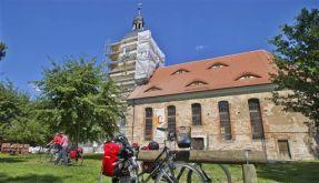 Radfahrerkirche in Wessnig bei Torgau (Foto)