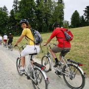 Mit Hybridkraft in die Ferien: Das E-Bike macht's möglich.