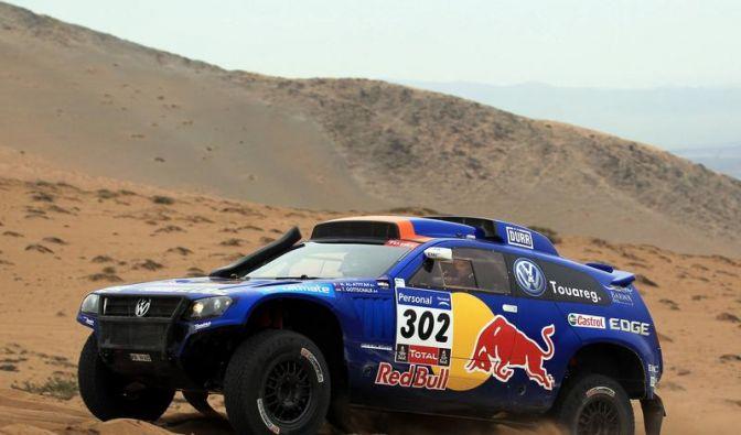 Rallye Dakar: Gottschalk und Al-Attiyah vorn (Foto)