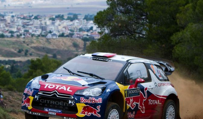 Rallye-WM: Loeb gewinnt Auftaktetappe in Griechenland (Foto)