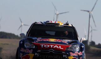 Rallye-WM: Loeb-Serie gerissen - Ogier gewinnt (Foto)