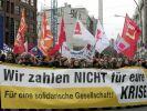 Randale bei Berliner Anti-Kapitalismus-Demo (Foto)
