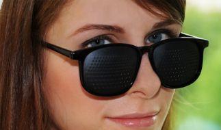Rasterbrille (Foto)