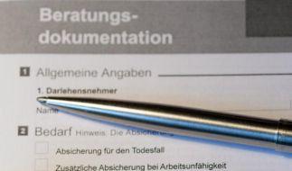 Ratenkredite: Vorsicht vor Restschuldversicherung (Foto)