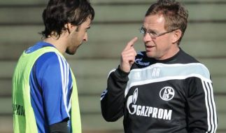 Raul Gonzales und Ralf Rangnick (Foto)