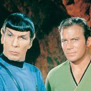 Kaum ein anderes Fernsehgespann war so gut kontrapunktiert wie Commander Spock (Leonard Nimoy) und Captain Jim Kirk (William Shatner).