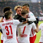 1. Auswärtssieg des Jahres für RBL gegen Borussia Mönchengladbach (Foto)
