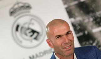 Real-Ikone Zinedine Zidane übernimmt Real Madrid. (Foto)