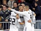 Real Madrid bleibt an FC Barcelona dran (Foto)