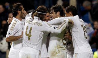 Real Madrid mit Respekt gegen die Bayern (Foto)